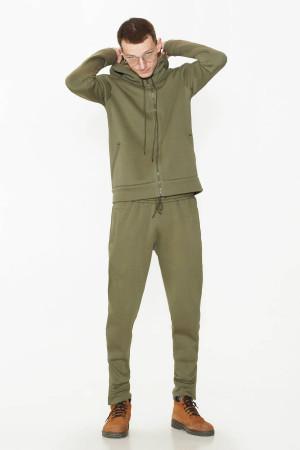 Спортивный костюм «Дюк» цвета хаки