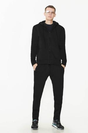 Спортивний костюм «Дюк» чорного кольору