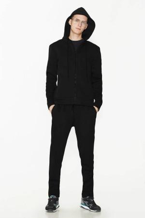 Спортивный костюм «Дюк» черного цвета