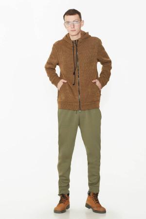 Кофта «Ярополк» коричневого кольору