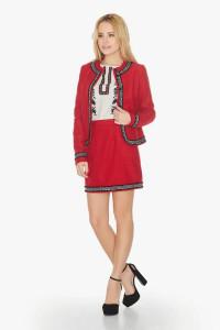 Жакет «Діна» червоного кольору