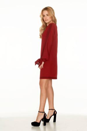 Платье «Дина» красного цвета