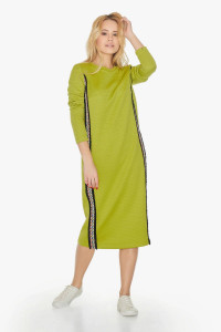 Платье «Лирея» зеленого цвета