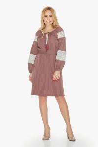 Сукня «Даля» кольору пудри