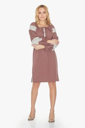 Платье «Даля»  цвета пудры