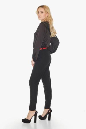 Блуза «Тібо» чорного кольору