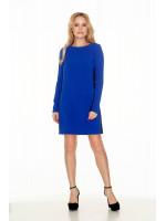 Сукня «Пава» синього кольору