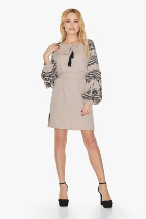 Сукня «Панночка» бежевого кольору