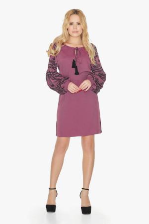 Платье «Барышня» розового цвета