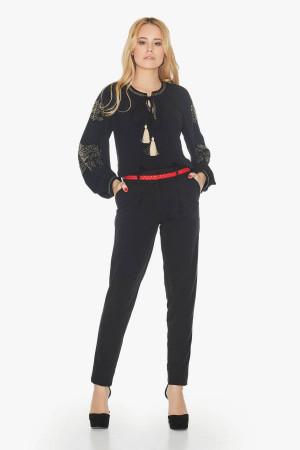 Блуза «Еріка» чорного кольору