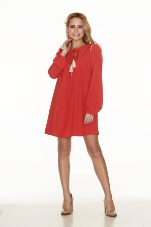 Сукня «Горяна» червоного кольору