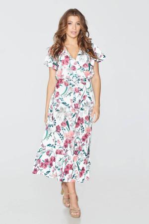 7962b81c0cb029 Сукня «Аполінарія» білого кольору – купити у Києві, доставка по Україні