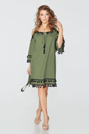 Сукня «Діана» кольору хакі