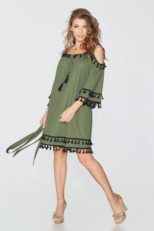 Платье «Диана» цвета хаки