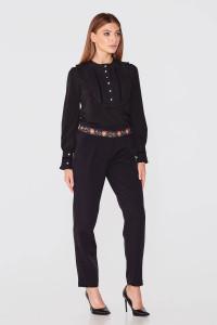 Блуза «Джоанна» чорного кольору