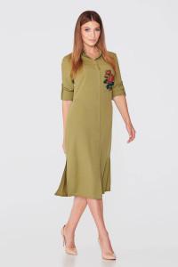 Сукня «Бристоль» фісташкового кольору