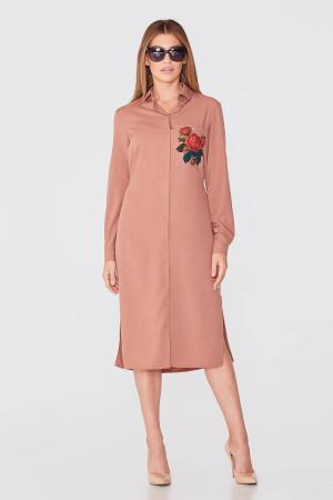 Сукня «Бристоль» коричневого кольору