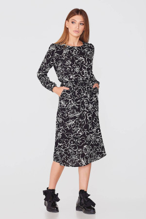 Платье «Дивейн» черного цвета