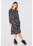Сукня «Дівейн» чорного кольору