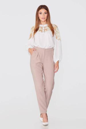 Блуза «Реджина» молочного цвета