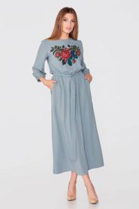 Сукня «Бакароль» бірюзового кольору