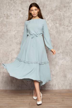 Платье «Будана» голубого цвета
