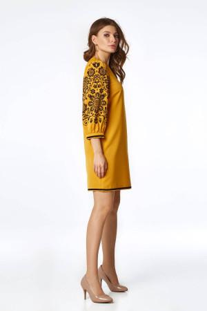 Сукня «Петра» гірчичного кольору