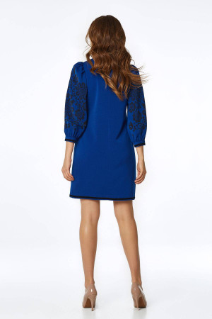 Сукня «Петра» кольору електрик