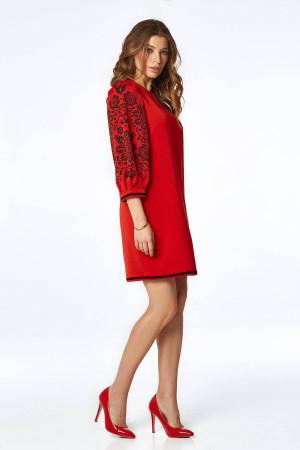Сукня «Петра» червоного кольору