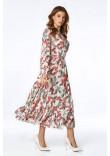 Сукня «Віннон» молочного кольору з принтом