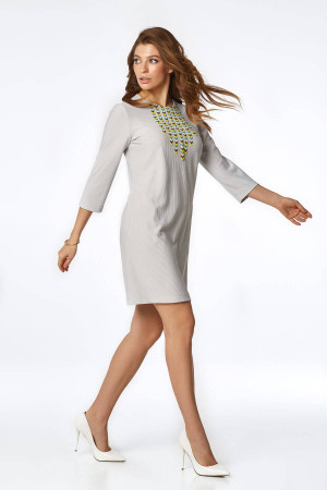 Сукня «Нун» сірого кольору