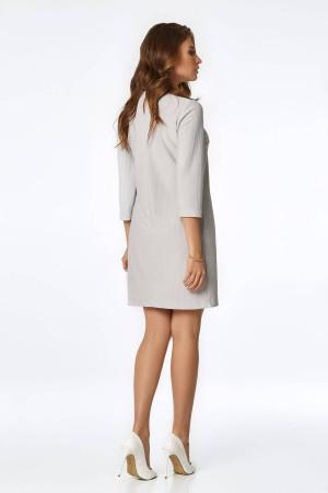 Платье «Нун» серого цвета
