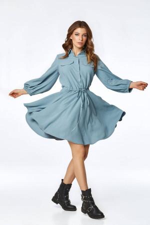 Платье «Лэйсса» голубого цвета