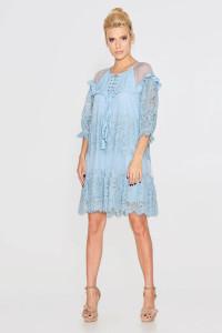 Сукня «Давур» блакитного кольору