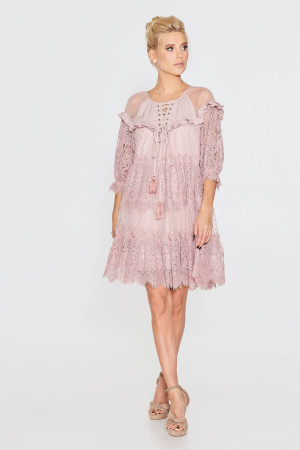 Сукня «Давур» кольору пудри
