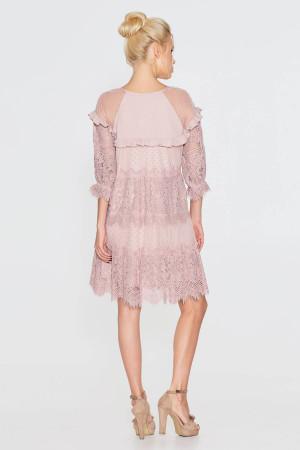 Платье «Давур» цвета пудры