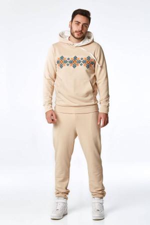 Спортивный костюм «Домра» бежевого цвета