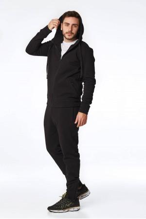 Спортивный костюм «Кирк» черного цвета