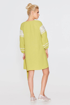 Сукня «Барвінна» салатового кольору