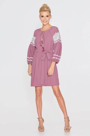 Сукня «Барвінна» кольору фуксії