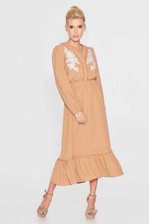 Сукня «Дамія» теракотового кольору