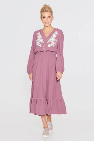 Платье «Дамия» цвета фуксии