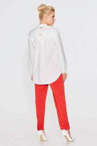 Блуза «Брайт» молочного цвета