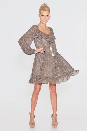 Сукня «Кайра» коричневого кольору