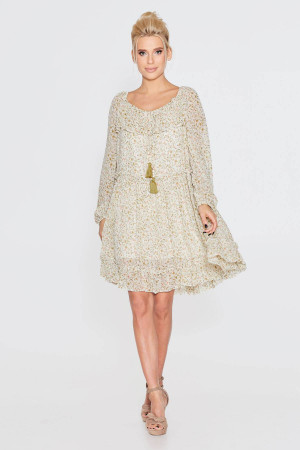 Сукня «Кайра» молочного кольору