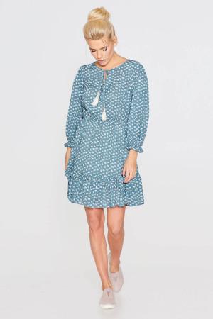 Сукня «Лура» бірюзового кольору