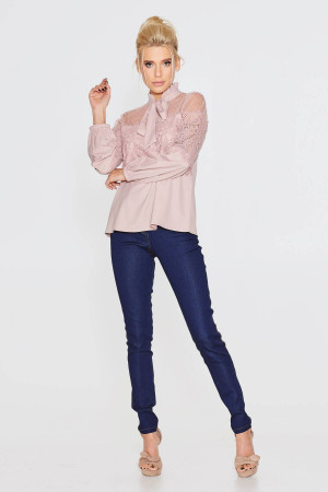 Блуза «Маркелла» кольору пудри