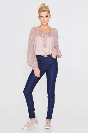 Блуза «Сафіна» кольору пудри