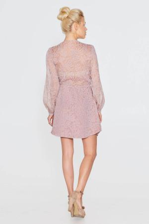 Платье «Тутти» пудрового цвета