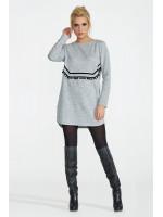 Платье «Хост» серого цвета